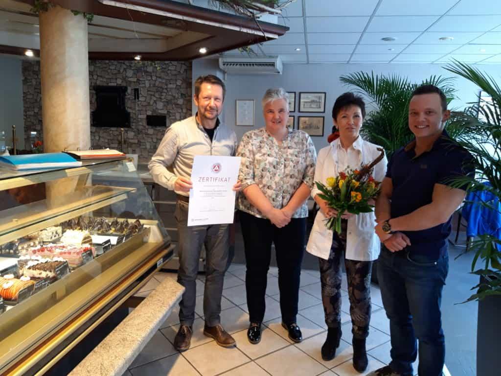 Auszeichnung Bäckerei Claus