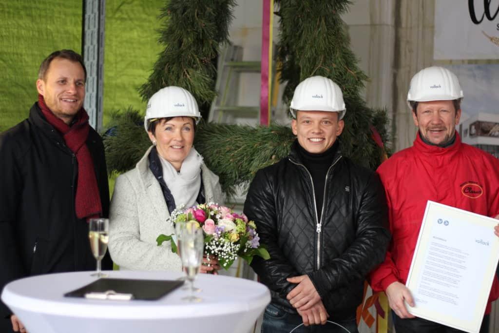 Richtfest Bäckerei Claus